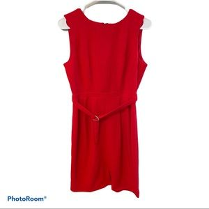 NWT ASOS belted cut-out back dress size 8